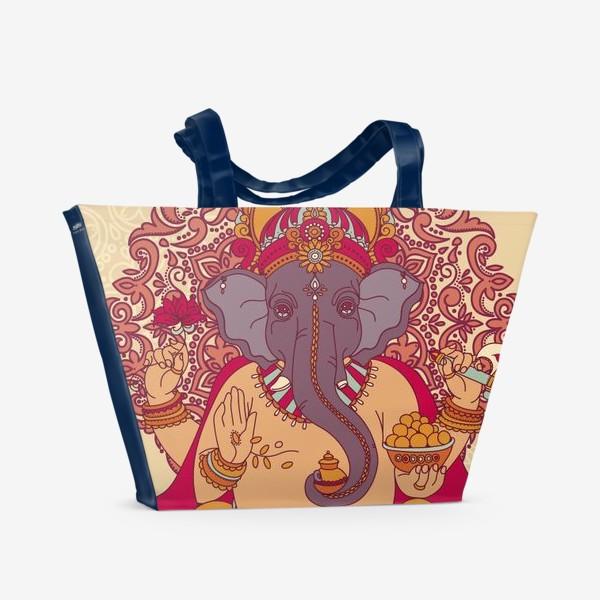 Пляжная сумка «Ганеша»