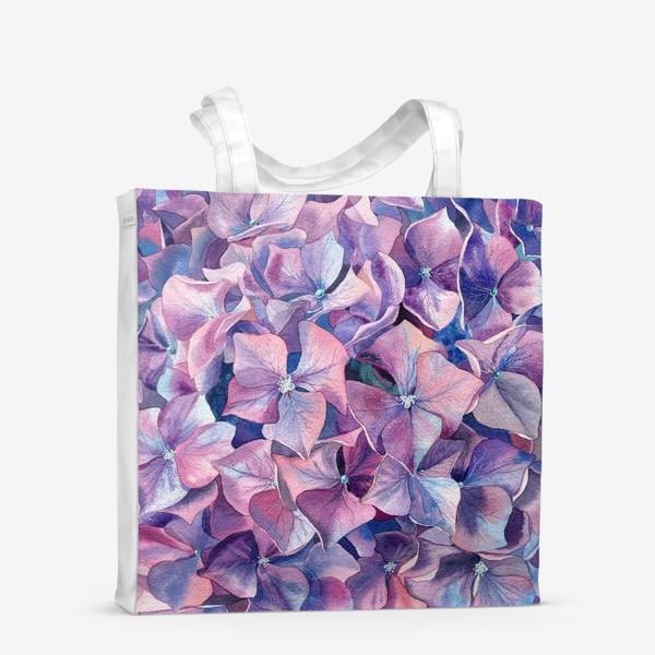 Сумка-шоппер «Фиолетовая гортензия»