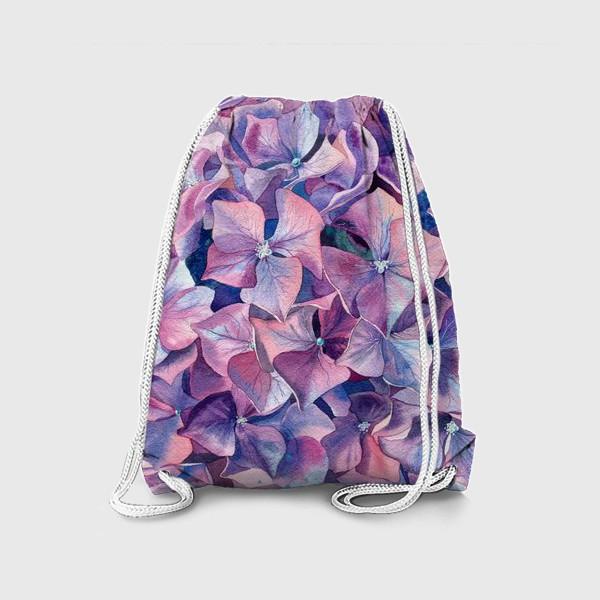 Рюкзак «Фиолетовая гортензия»