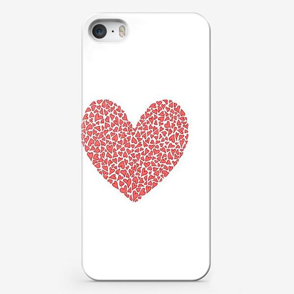 Чехол iPhone «Большая любовь кроется в мелочах»