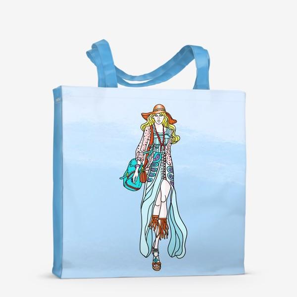Сумка-шоппер «Hippie-coloring»