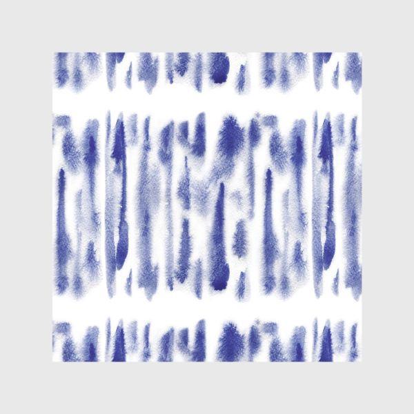 Шторы «Абстракция. Акварельный полосатый узор. Abstract watercolor stripes pattern»