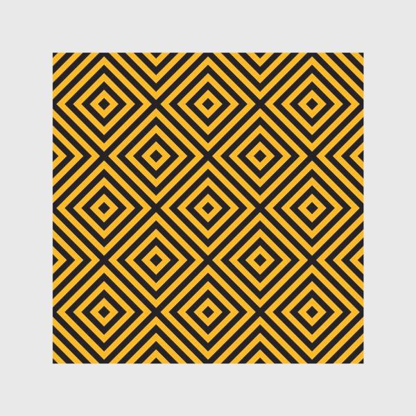 Скатерть «Золотой абстрактный узор. Abstract gold mosaic»