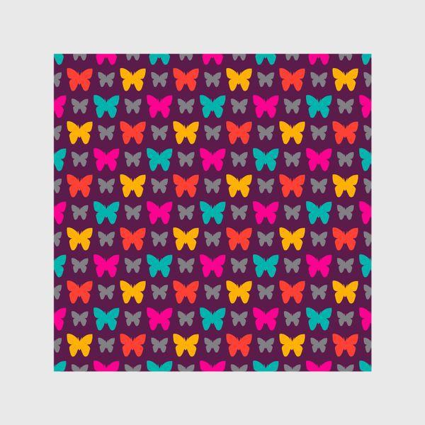 Шторы «Красивые яркие бабочки»