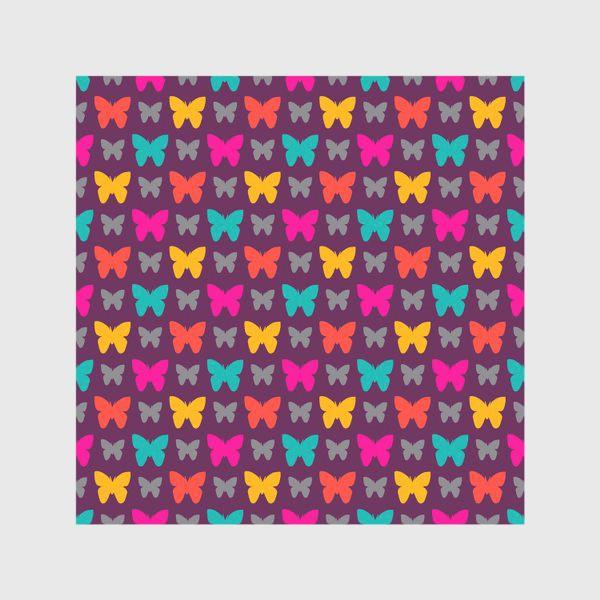 Скатерть «Красивые яркие бабочки»