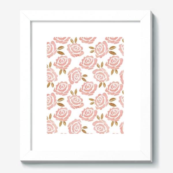 Картина «Roses Pattern»
