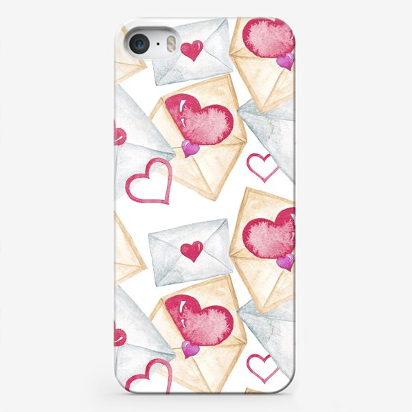 Чехол iPhone «Конверт с сердцем»