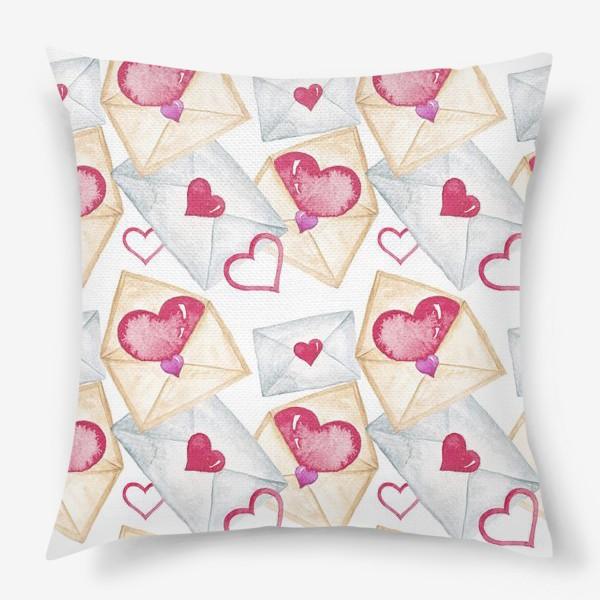 Подушка «Конверт с сердцем»
