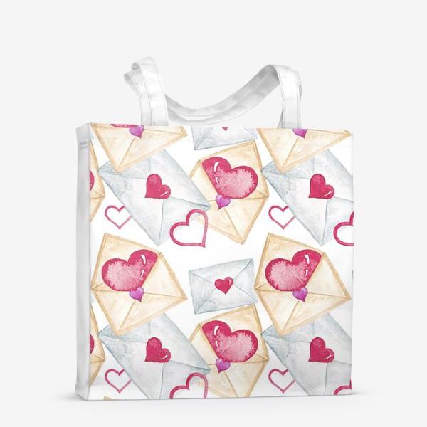 Сумка-шоппер «Конверт с сердцем»
