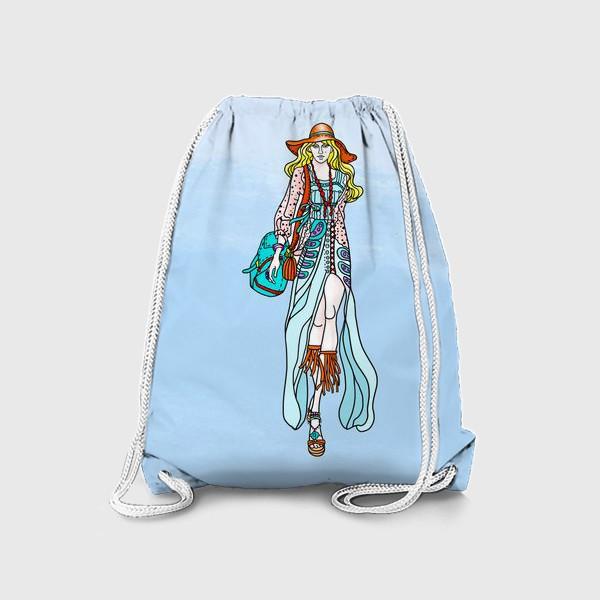 Рюкзак «Hippie-coloring»