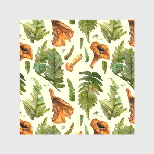 Скатерть «Лисички и папоротник»