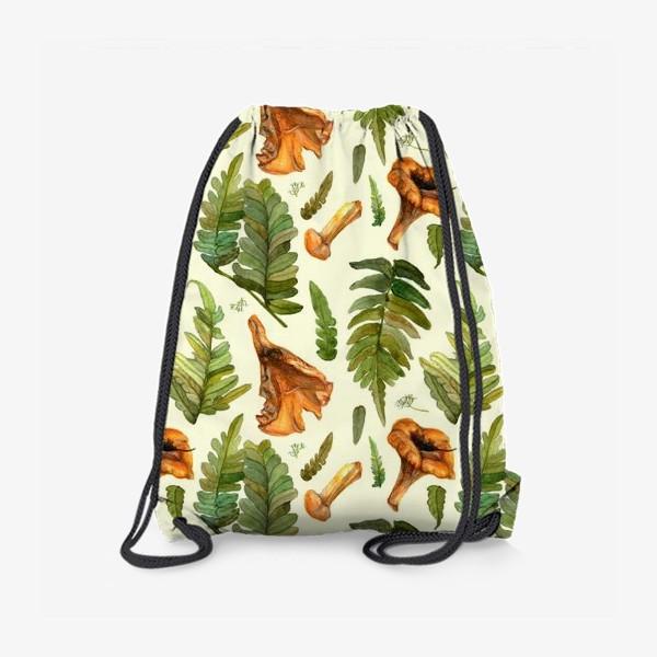 Рюкзак «Лисички и папоротник»