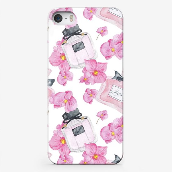 Чехол iPhone «Parfume Pattern»