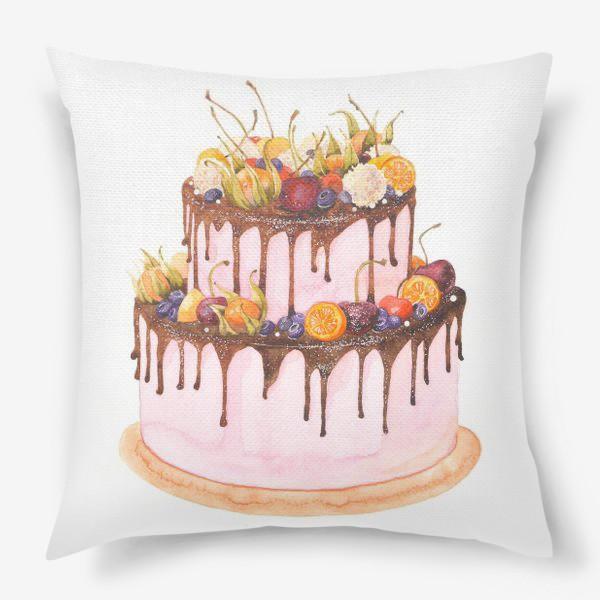Подушка «торт»