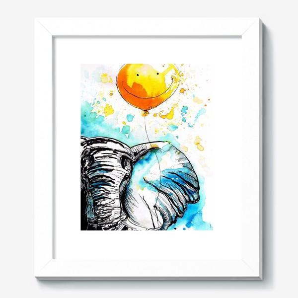 Картина «Слон приносящий счастье»