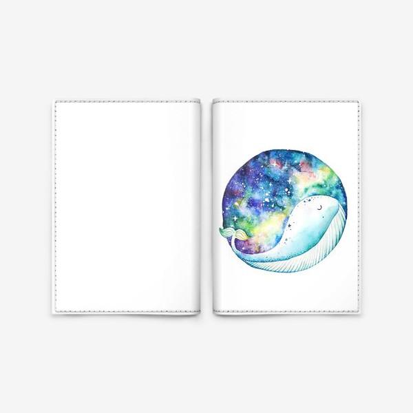 Обложка для паспорта «Сны кита»