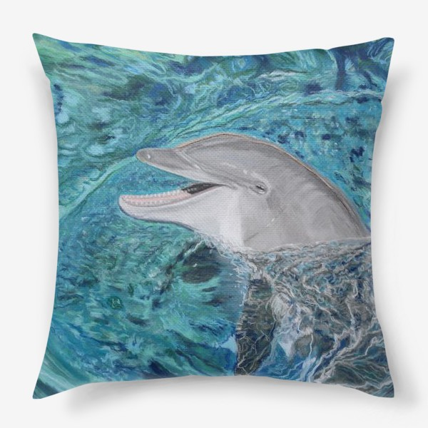 Подушка «дельфин»