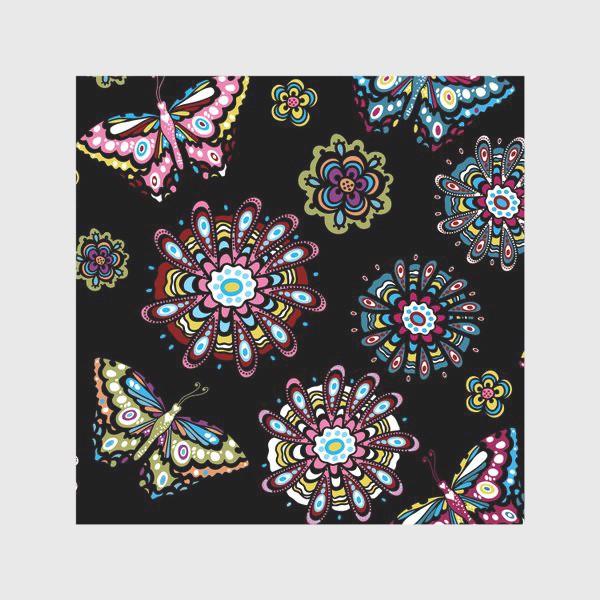 Скатерть «Бабочки в саду»