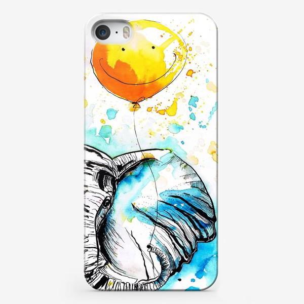 Чехол iPhone «Слон приносящий счастье»