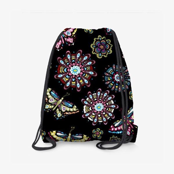Рюкзак «Бабочки в саду»