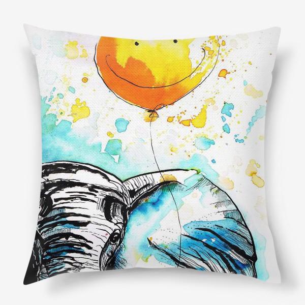 Подушка «Слон приносящий счастье»