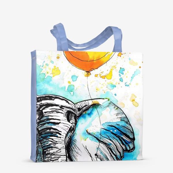 Сумка-шоппер «Слон приносящий счастье»