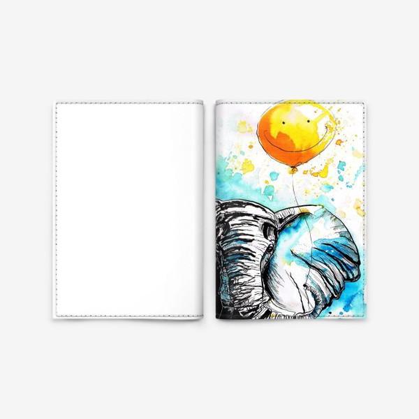 Обложка для паспорта «Слон приносящий счастье»