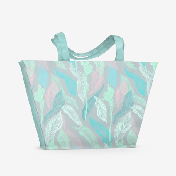 Пляжная сумка «флора»
