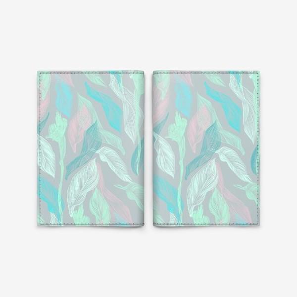 Обложка для паспорта «флора»