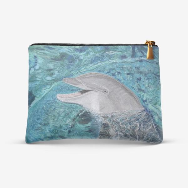 Косметичка «дельфин»