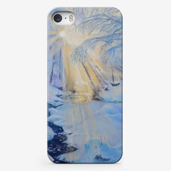 Чехол iPhone «зимний пейзаж»