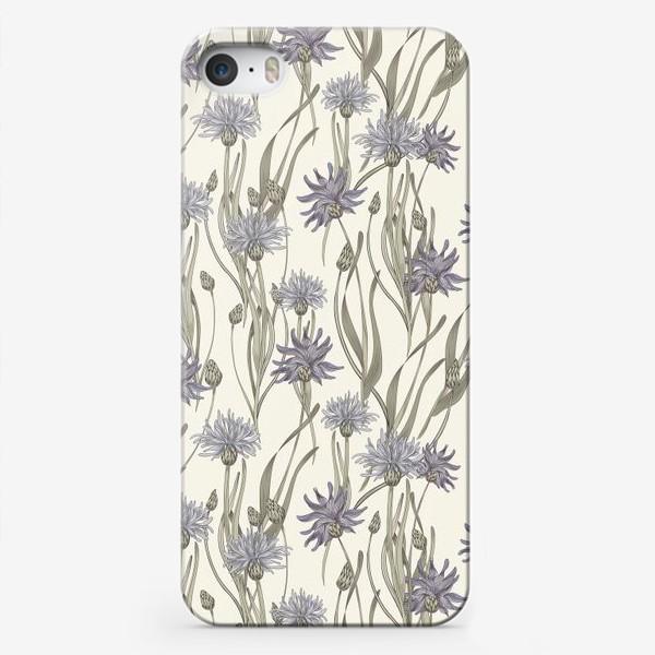 Чехол iPhone «васильки2»