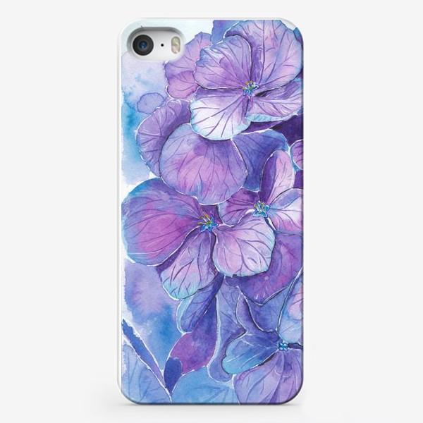 Чехол iPhone «Гортензия»