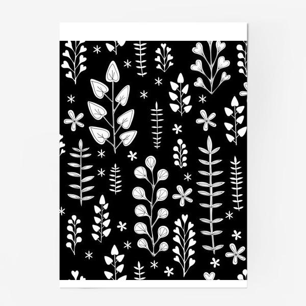 Постер «Растительный орнамент»