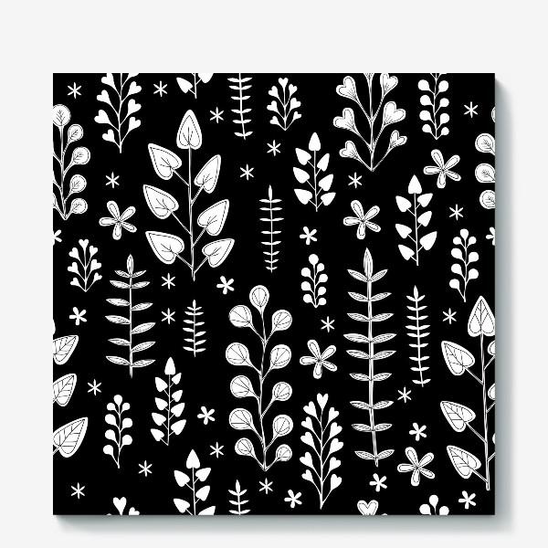 Холст «Растительный орнамент»
