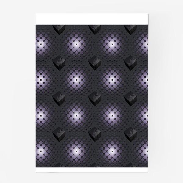 Постер «паттерн-геометрия»