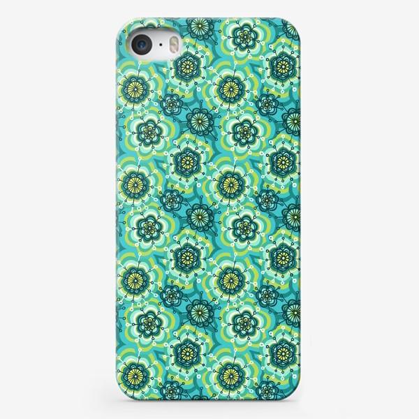 Чехол iPhone «Забавные цветы»