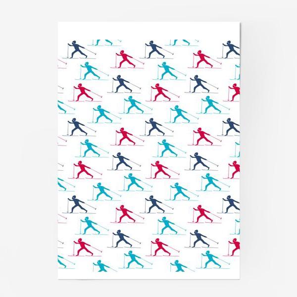 Постер «Лыжные гонки»