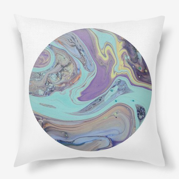 Подушка «планета. абстракция2»