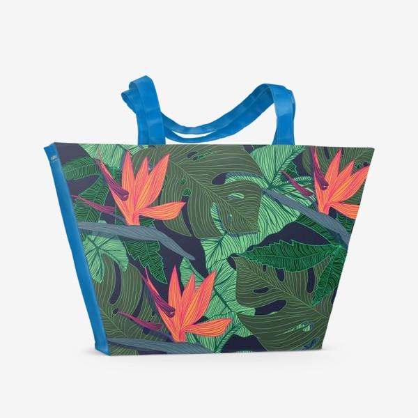 Пляжная сумка «jungle»