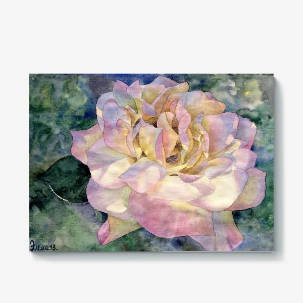 Холст «Роза»