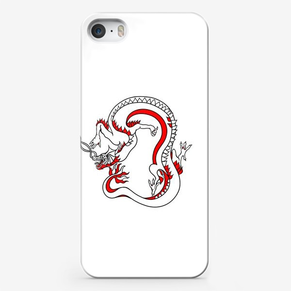 Чехол iPhone «Дракон»