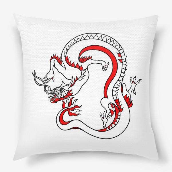 Подушка «Дракон»