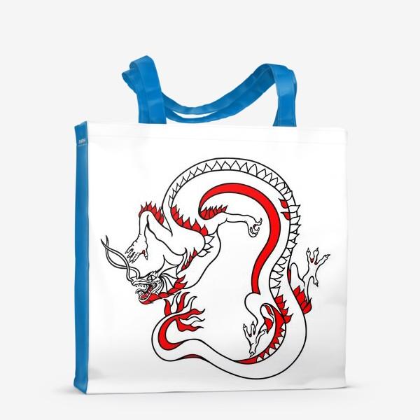 Сумка-шоппер «Дракон»