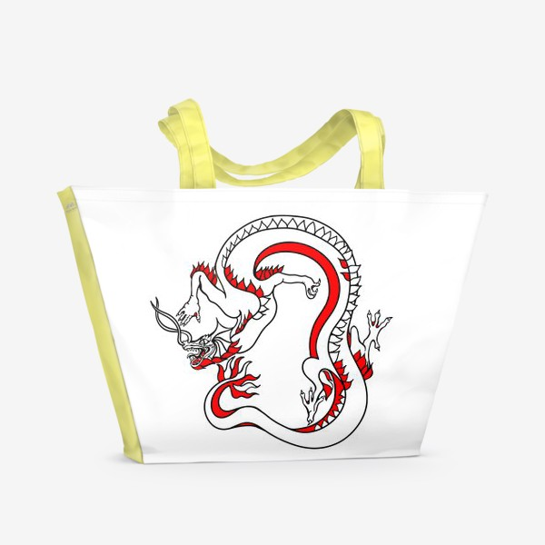 Пляжная сумка «Дракон»