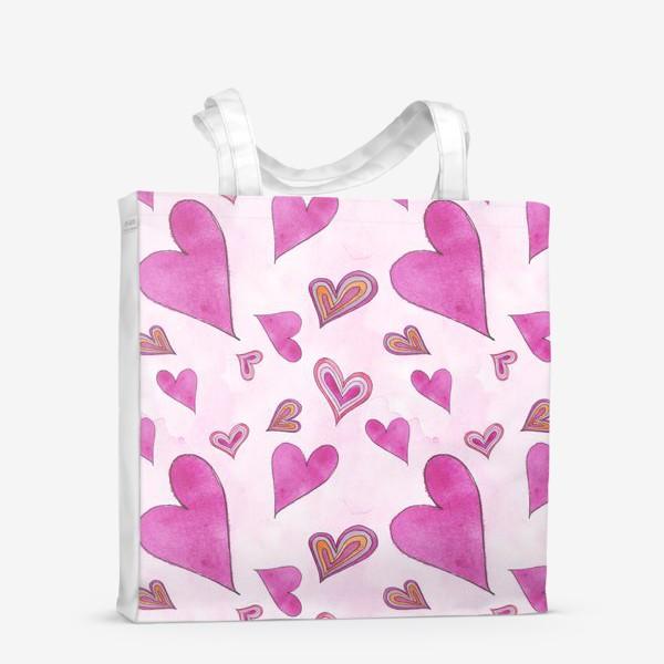 Сумка-шоппер «Hearts Pink»
