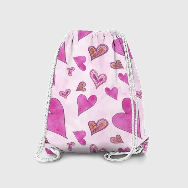 Рюкзак «Hearts Pink»