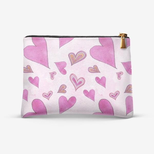 Косметичка «Hearts Pink»