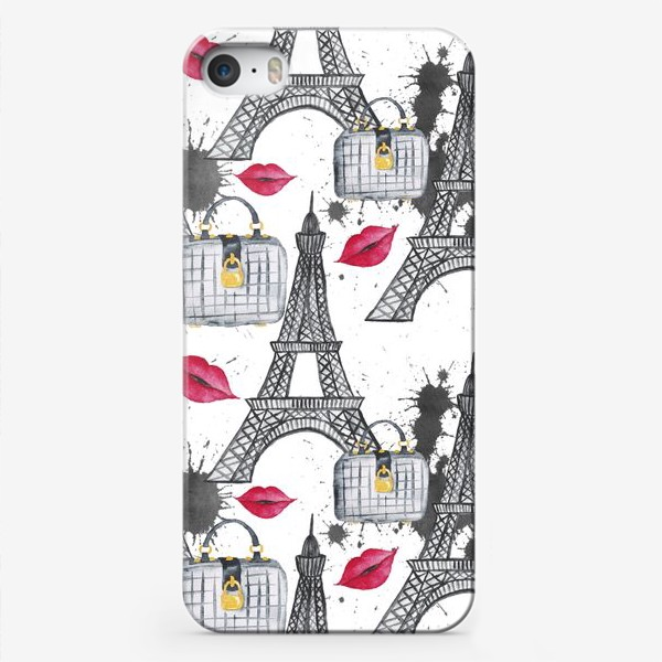 Чехол iPhone «Paris Pattern»