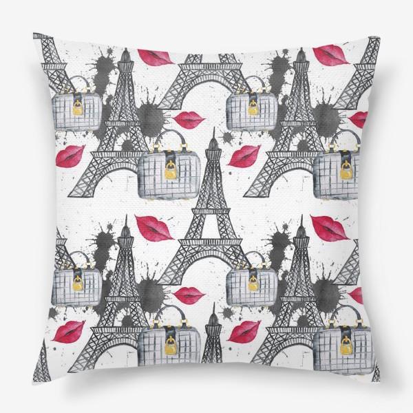 Подушка «Paris Pattern»
